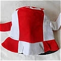 Cow Hat (Red and White)