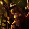 Cowgirl Miss Fortune Cosplay from League of Legends