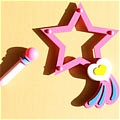 Creamy Mami Wand (Star) Desde Creamy Mami the Magic Angel