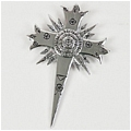 Cross Brooch (Silver) Desde D Gray Man