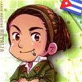 Cuba Cosplay from Axis Powers Hetalia