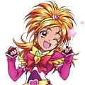 Cure Bloom Cosplay from Futari wa Pretty Cure Splash Star