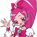 Cure Blossom Wig from HeartCatch PreCure