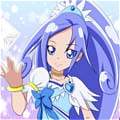 Cure Diamond Cosplay Da Dokidoki! Pretty Cure