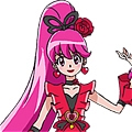 Cure Lovely Cosplay (Cherry Flamenco) from HappinessCharge PreCure!