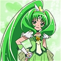 Cure March Wig from Smile PreCure