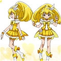 Cure Peace Cosplay Desde Smile PreCure