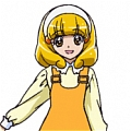 Cure Peace Wig from Smile PreCure