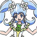 Cure Princess Costume (Macadamia Hula Dance) from HappinessCharge PreCure
