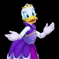 Daisy Duck Cosplay (Duchess) Desde Kingdom Hearts (serie)