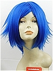 Dark Blue Wavy Costume Wig (Elijah)