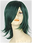 Dark Green Wavy Costume Wig (Natalie)