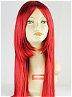 Dark Red Long Straight Costume Wig (Kimberly)