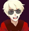 Dave Strider Cosplay (Purple) from Homestuck