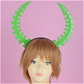 Dead Master Headwear (Green) from Black Rock Shooter