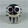 Death the Kid Cosplay Ring from Soul Eater