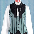 Earl Costume (Vest and Shirt) Da Black Butler