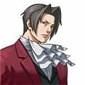 Edgeworth Wig von Ace Attorney