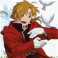 Edward Cosplay Costume from FullMetal Alchemist