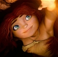 Eep Cosplay von The Croods