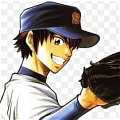 Eijun Cosplay Desde Ace of Diamond