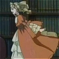 Elizabeth Costume (Orange Dress) De  Personnages de Black Butler