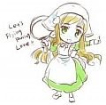Elizaveta (Hungary) Maid Costume from Axis Powers Hetalia