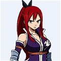 Erza Cosplay (Purple) from Fairy Tail