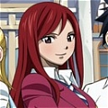 Erza Cosplay (Uniform) Desde Fairy Tail
