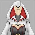 Ezio Cosplay (Female) von Assassins Creed