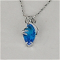 Final Fantasy Necklace (Blue) Desde Final Fantasy