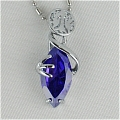 Final Fantasy Necklace (Purple) Desde Final Fantasy