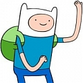 Finn Cosplay von Adventure Time