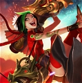 Firecracker Jinx Cosplay from League of Legends