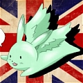 Flying Mint Bunny Cosplay von Axis Powers Hetalia