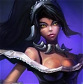 French Maid Nidalee Cosplay from League of Legends