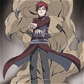 Gaara Cosplay (red version) Da Naruto Shippuuden