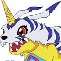 Gabumon Cosplay Da Digimon Adventure