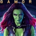 Gamora Wig De  Guardians of the Galaxy