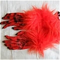 Ghost Gloves (Red)