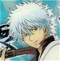 Gintoki Cosplay Wig Mixed Color from Gintama