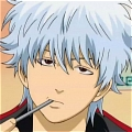 Gintoki Wig (Anime Mixed Color) from Gin Tama