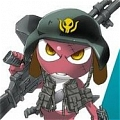 Giroro Cosplay from Sgt. Frog
