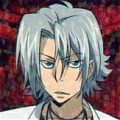 Gokudera Wig (2nd) from Katekyo Hitman Reborn
