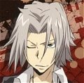 Gokudera Wig (Grey) from Katekyo Hitman Reborn