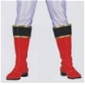 Gosei Red Shoes Desde Tensou Sentai Goseiger
