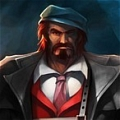 Mafia Graves Cosplay Da League of Legends