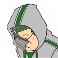 Green Hoodie for Lora