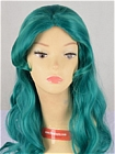 Green Wig (Long,Curly,Neptune3)