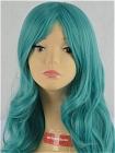 Green Wig (Long,Wavy,B12)